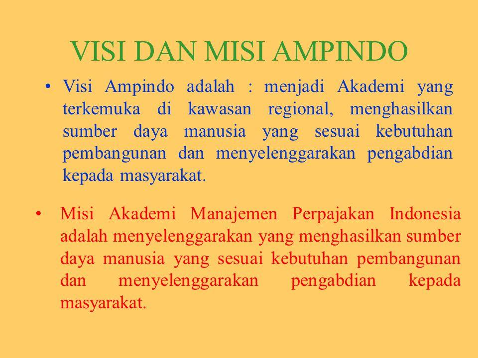VISI DAN MISI AMPINDO