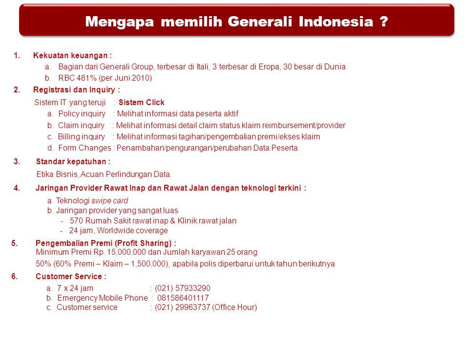 Mengapa memilih Generali Indonesia
