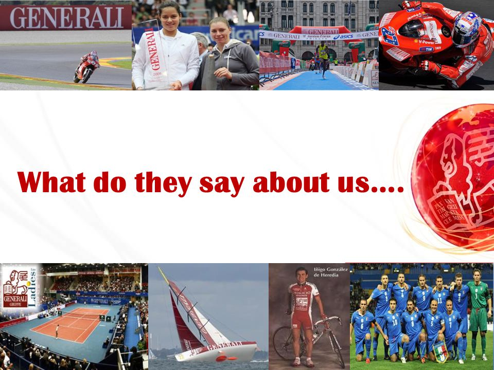 What do they say about us….