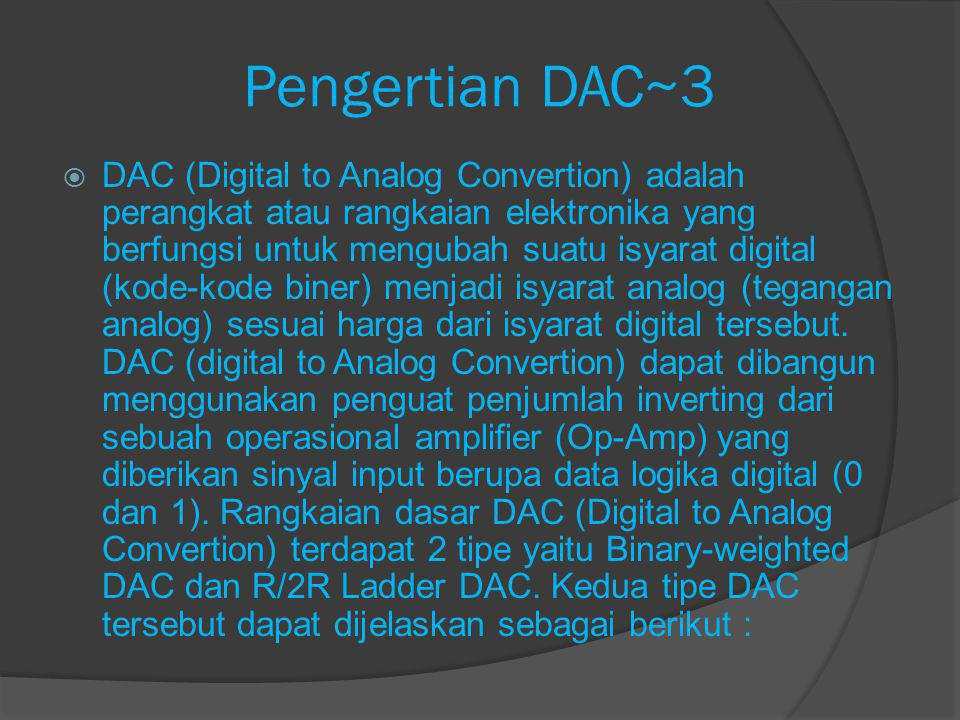 Pengertian DAC~3