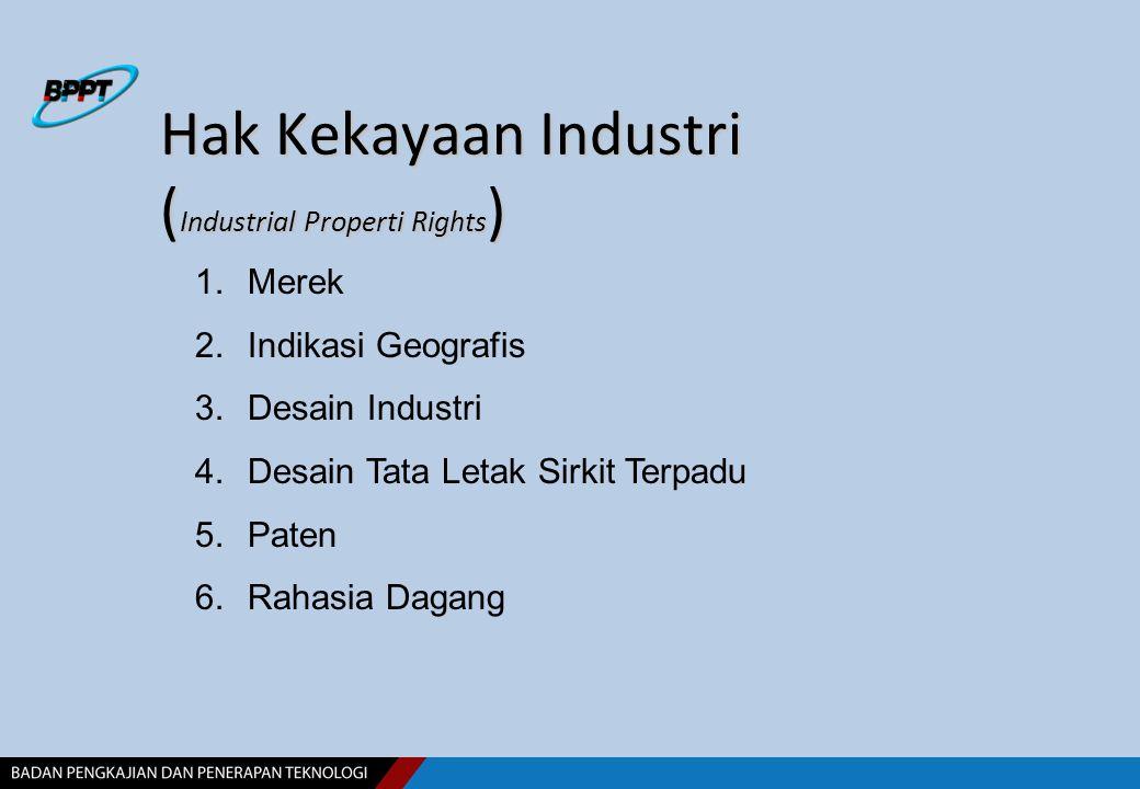 Hak Kekayaan Industri (Industrial Properti Rights)