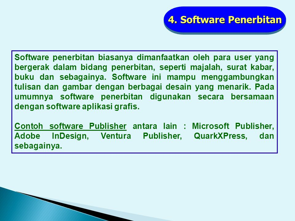 4. Software Penerbitan