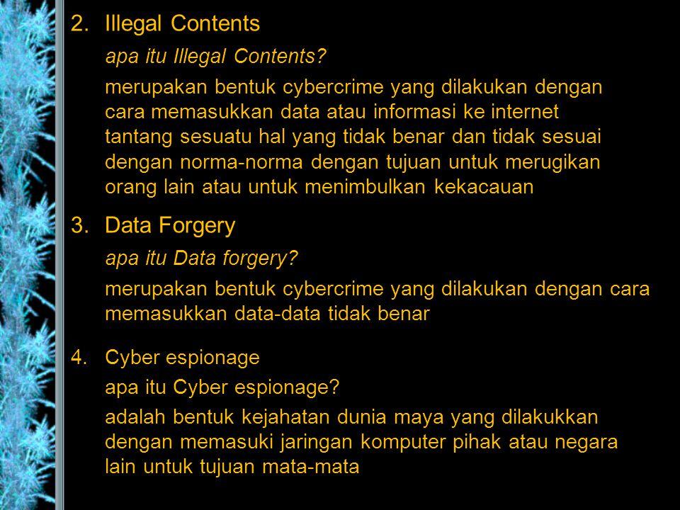 apa itu Illegal Contents