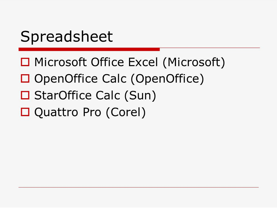 Spreadsheet Microsoft Office Excel (Microsoft)