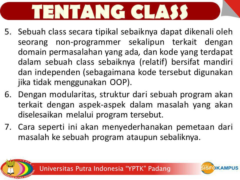 TENTANG CLASS