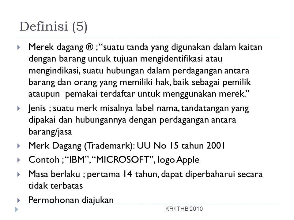 Definisi (5)