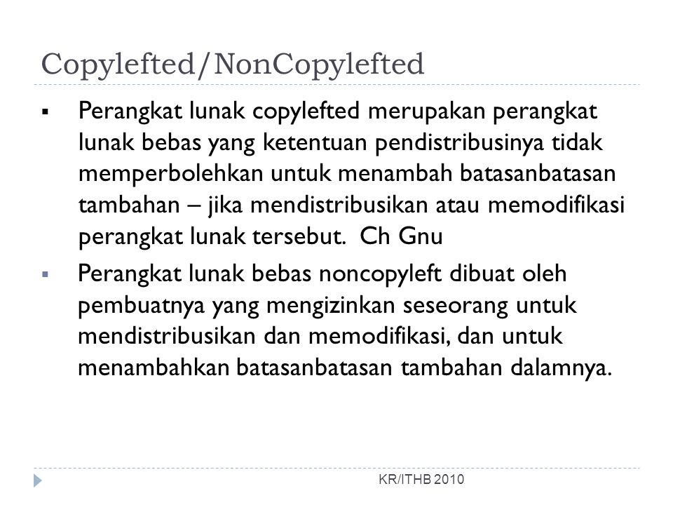 Copylefted/NonCopylefted