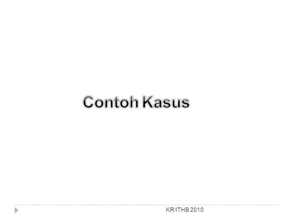 Contoh Kasus KR/ITHB 2010
