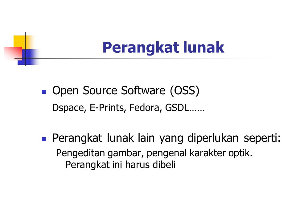 Perangkat lunak Open Source Software (OSS)