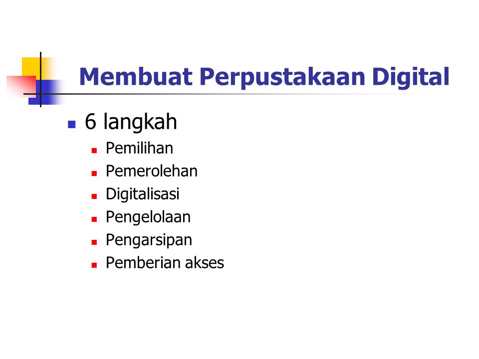Membuat Perpustakaan Digital