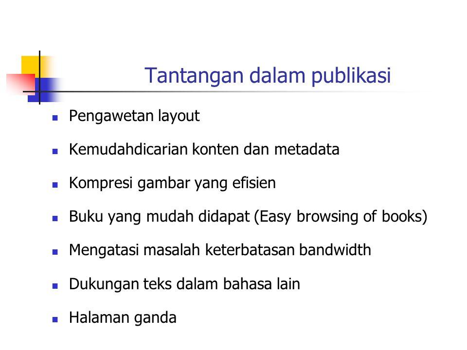 Tantangan dalam publikasi