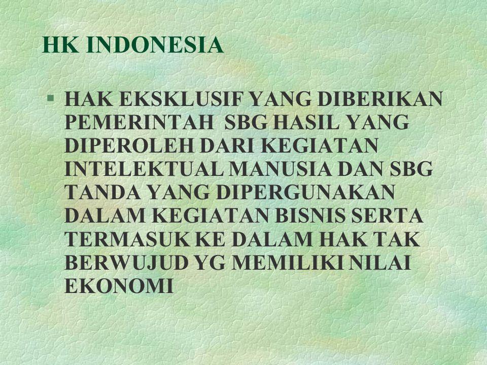 HK INDONESIA