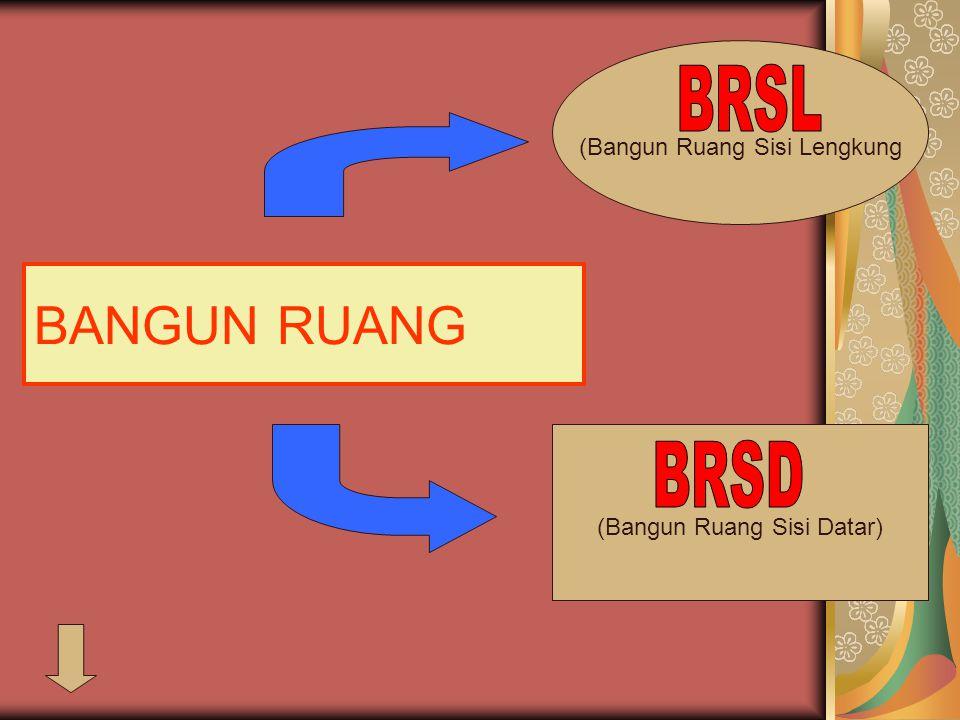 BANGUN RUANG BRSL BRSD (Bangun Ruang Sisi Lengkung