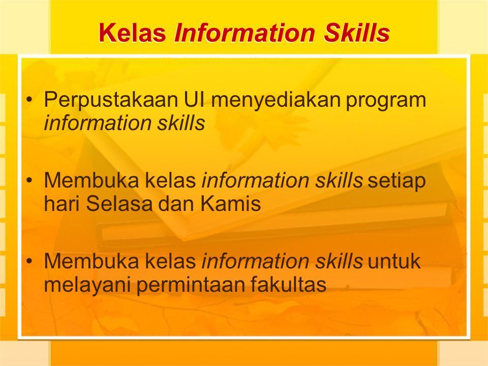 Kelas Information Skills