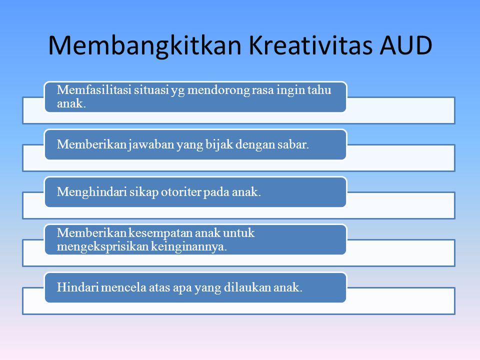 Membangkitkan Kreativitas AUD