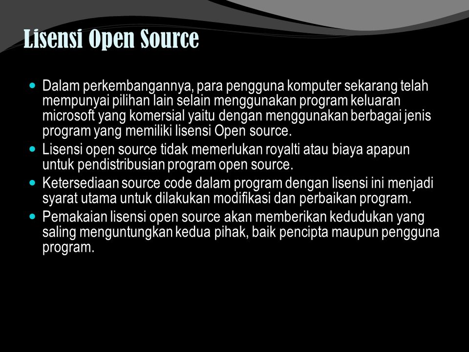 Lisensi Open Source