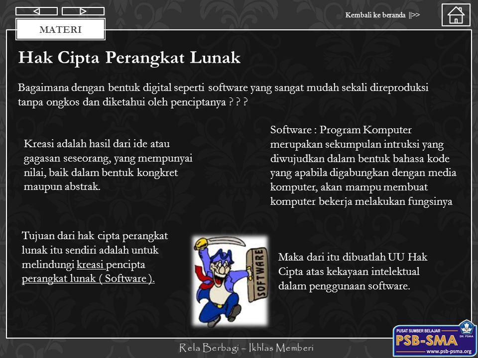 Hak Cipta Perangkat Lunak