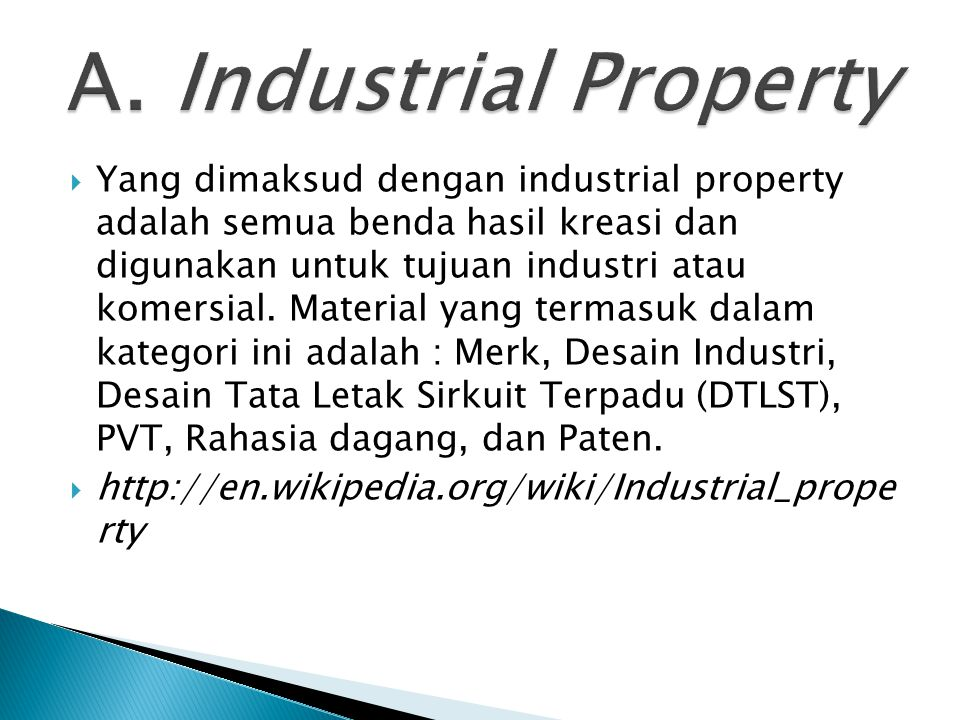 A. Industrial Property