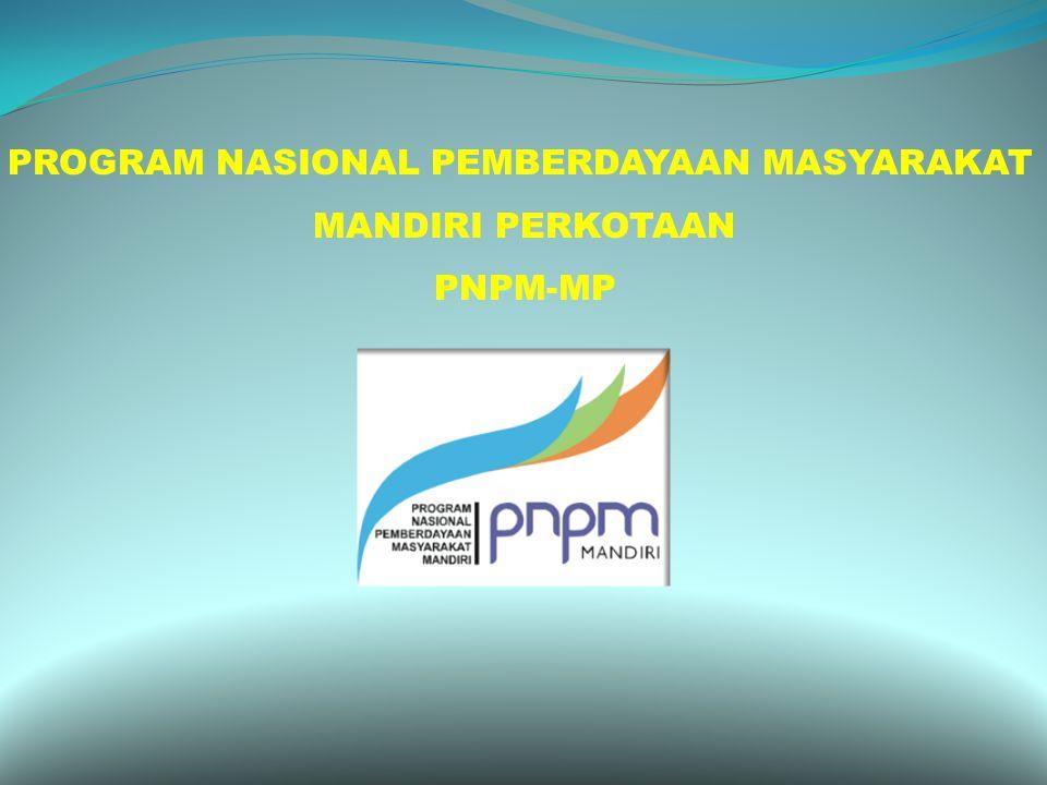 PROGRAM NASIONAL PEMBERDAYAAN MASYARAKAT