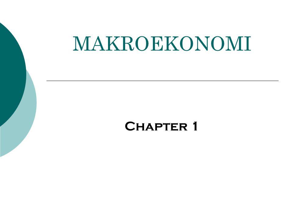 MAKROEKONOMI Chapter 1