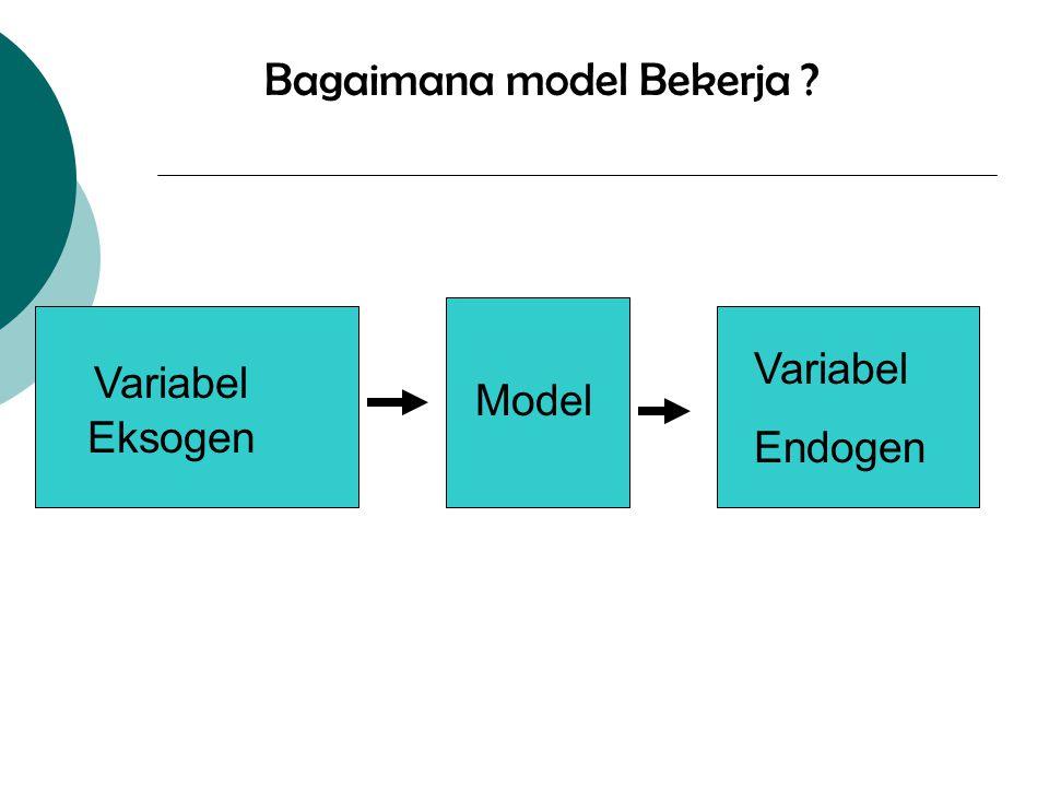 Bagaimana model Bekerja