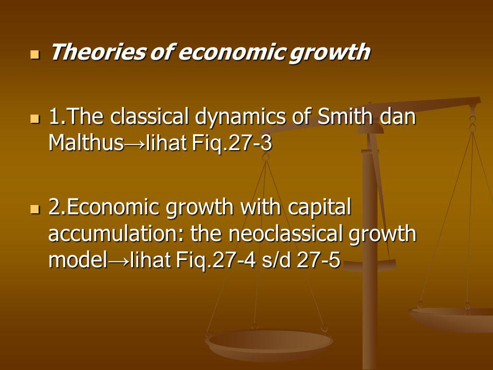 Theories of economic growth