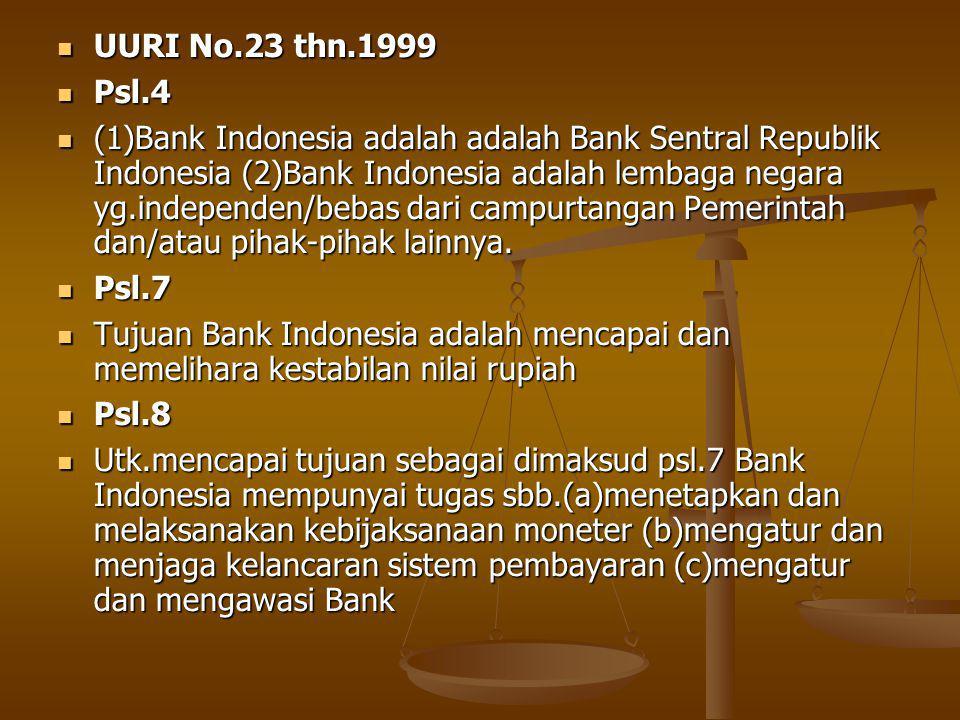 UURI No.23 thn.1999 Psl.4.