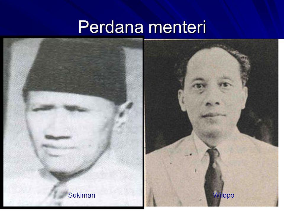 Perdana menteri Sukiman Wilopo