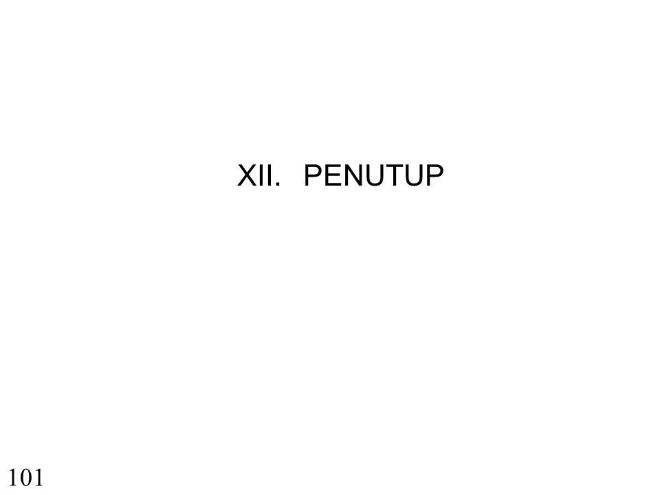 XII. PENUTUP 101