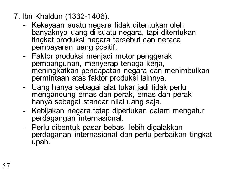 7. Ibn Khaldun (1332-1406).