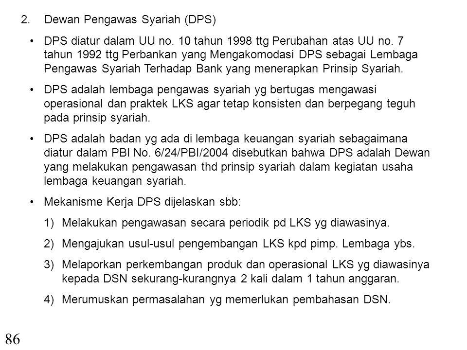 86 Dewan Pengawas Syariah (DPS)