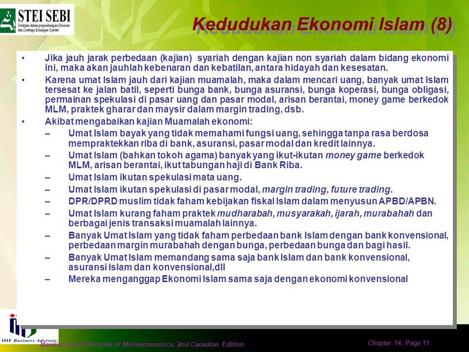 Kedudukan Ekonomi Islam (8)