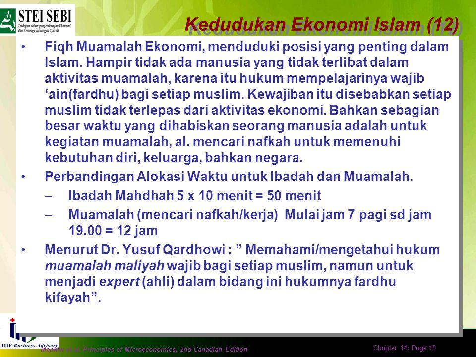 Kedudukan Ekonomi Islam (12)