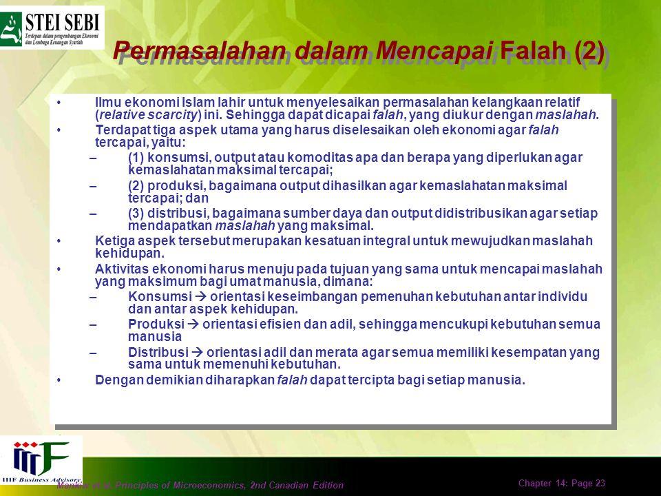 Permasalahan dalam Mencapai Falah (2)