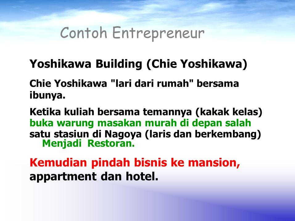 Contoh Entrepreneur Yoshikawa Building (Chie Yoshikawa)
