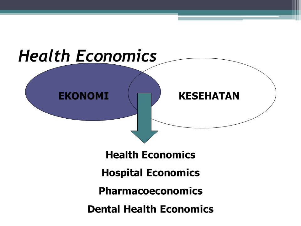 Dental Health Economics