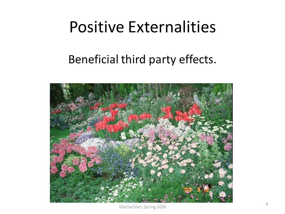 Positive Externalities