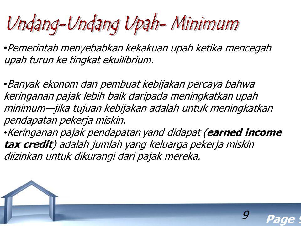 Undang-Undang Upah- Minimum