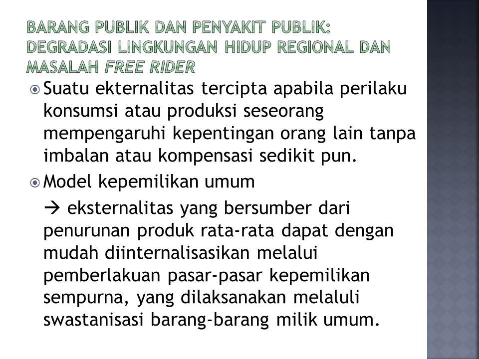 Model kepemilikan umum