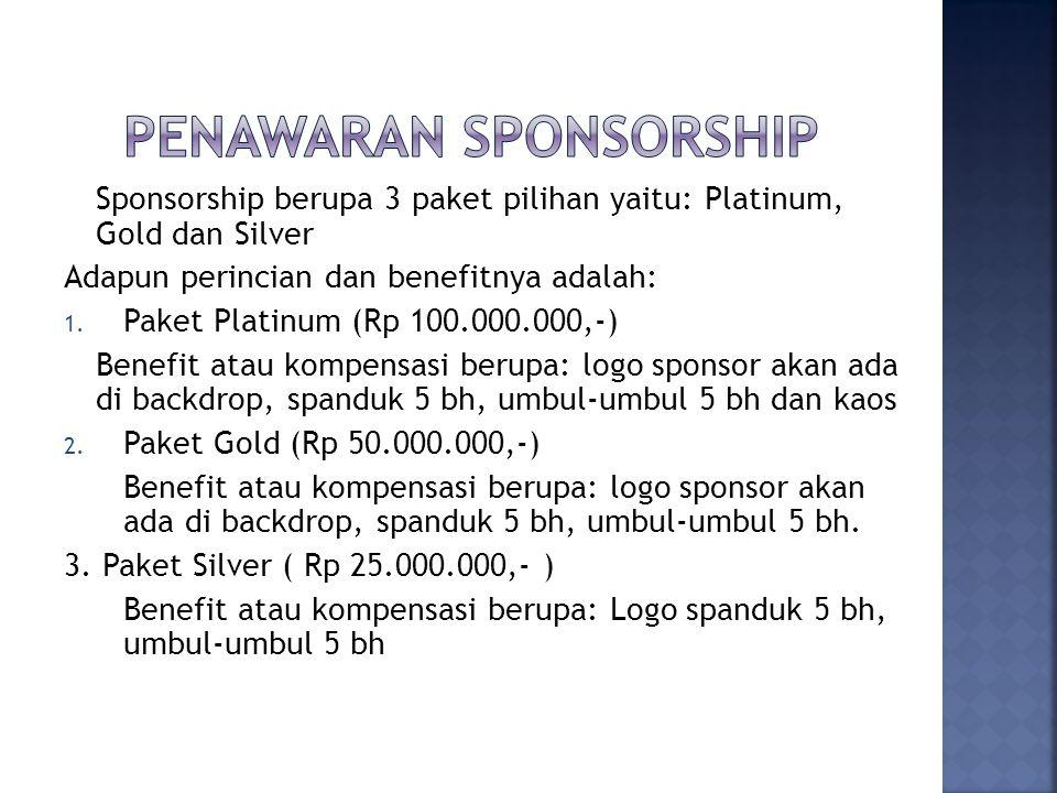 Penawaran Sponsorship