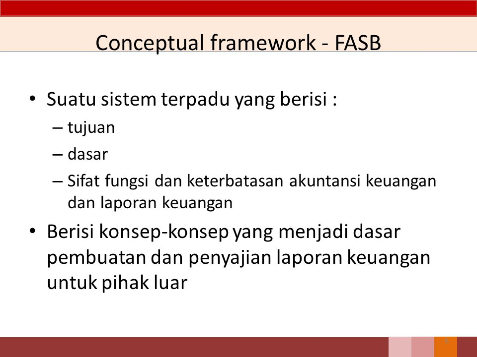 Conceptual framework - FASB
