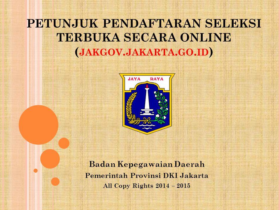 Badan Kepegawaian Daerah Pemerintah Provinsi DKI Jakarta