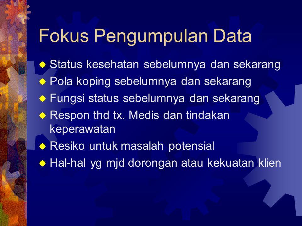 Fokus Pengumpulan Data