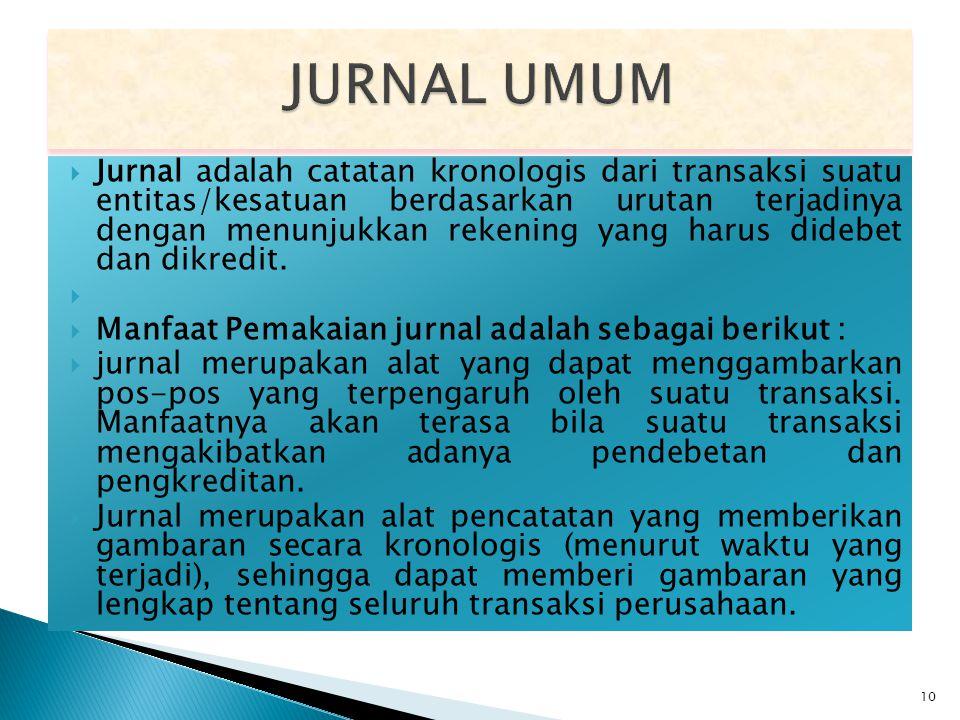JURNAL UMUM