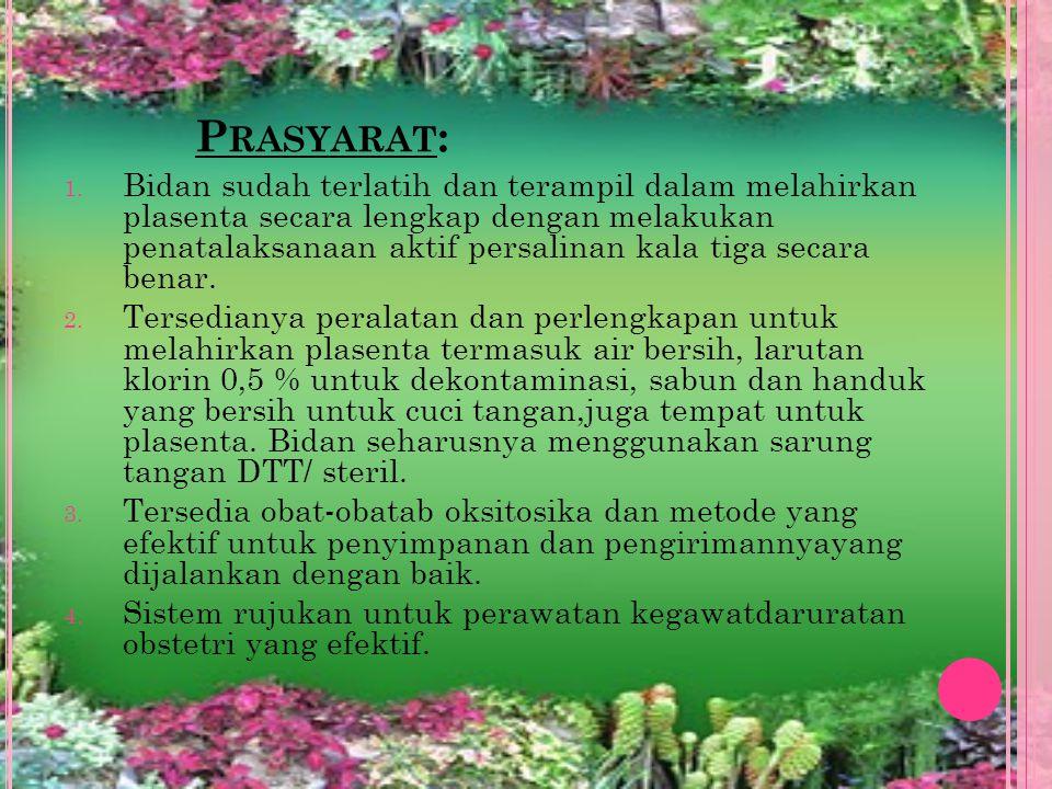 Prasyarat: