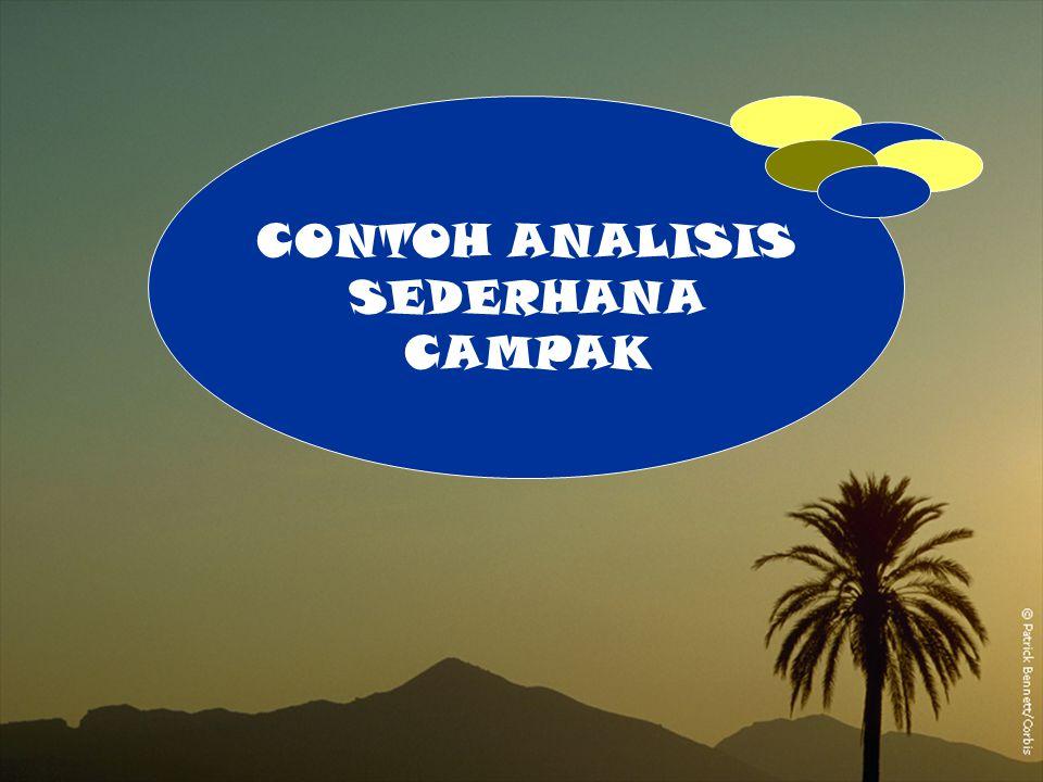 A 1 CONTOH ANALISIS SEDERHANA CAMPAK