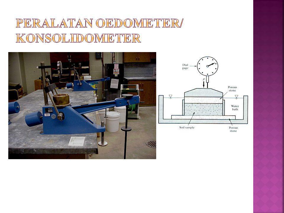 PERALATAN OEDOMETER/ KONSOLIDOMETER