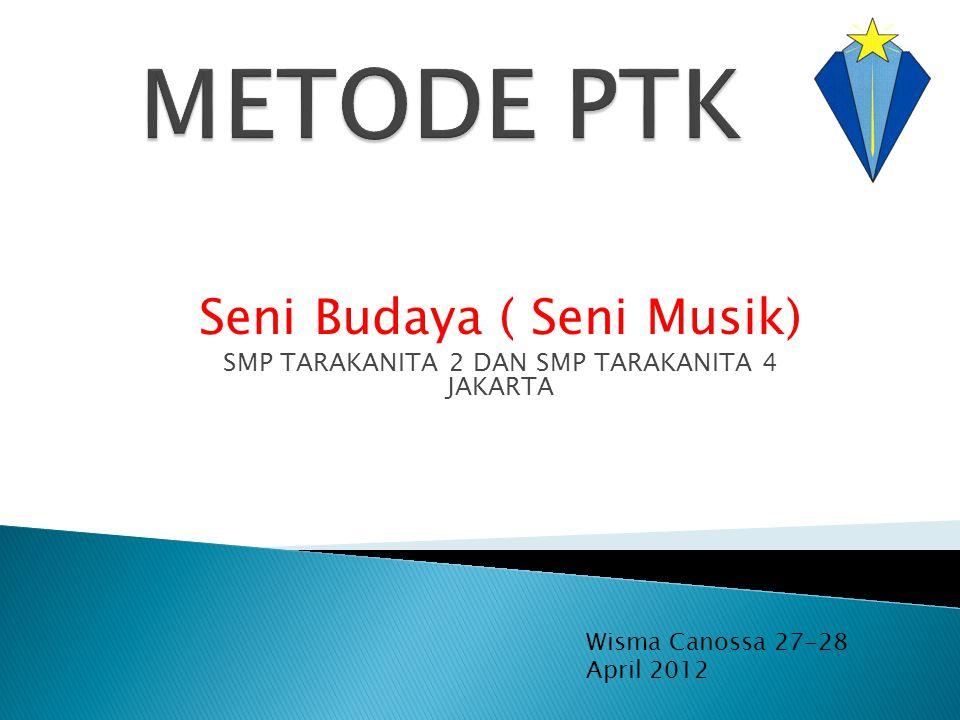 METODE PTK Seni Budaya ( Seni Musik)