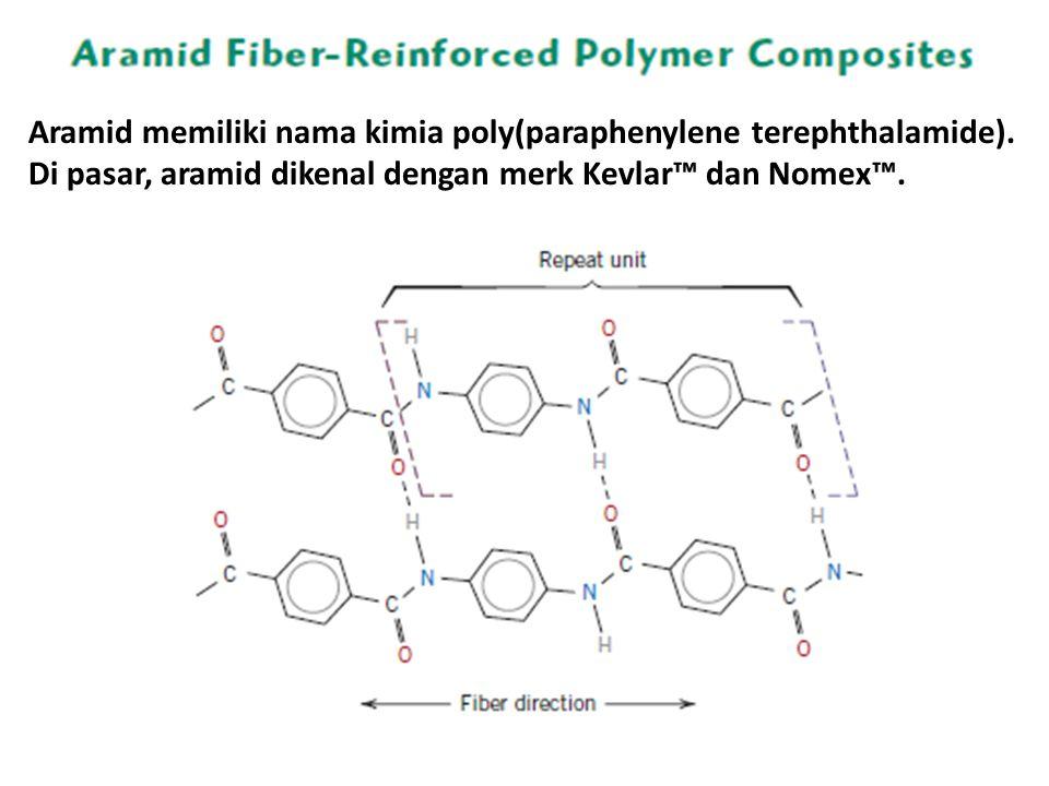 Aramid memiliki nama kimia poly(paraphenylene terephthalamide)