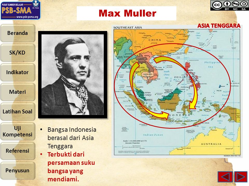 Bangsa Indonesia berasal dari Asia Tenggara